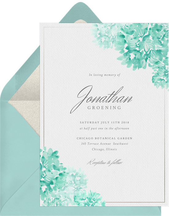 Timeless Romance invitation