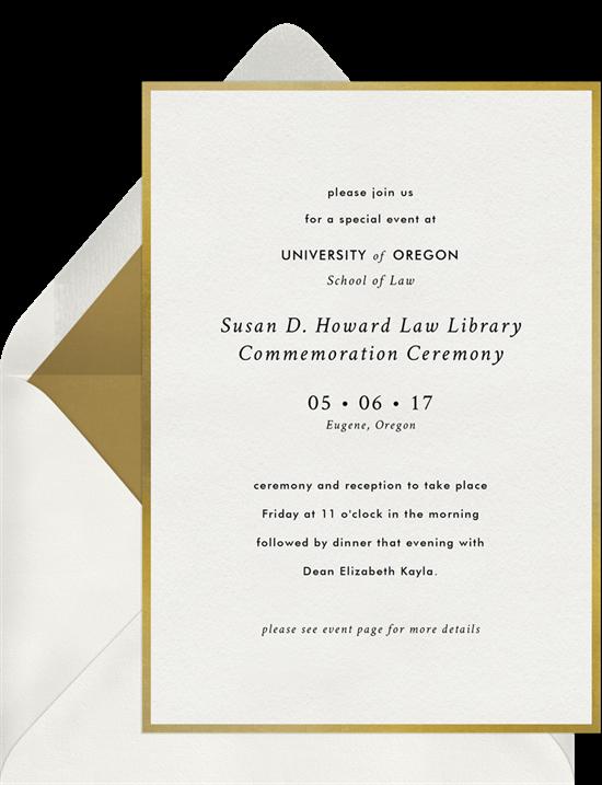 invitation by Signature Greenvelope