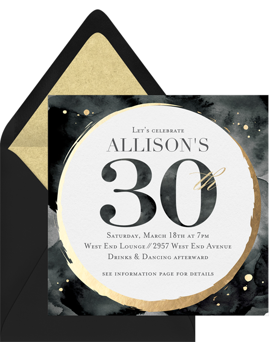 40 Birthday Invitation Wording Ideas For Every Milestone Stationers