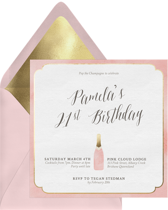 40 Birthday Invitation Wording Ideas For Every Milestone Stationers