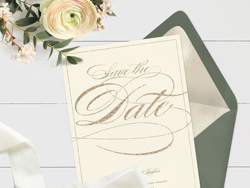 9 Save the Date Ideas to Match Your Wedding Theme - STATIONERS