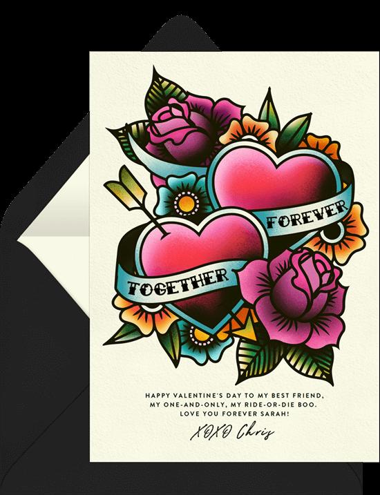 Valentine Ink Valentine's Card from Greenvelope