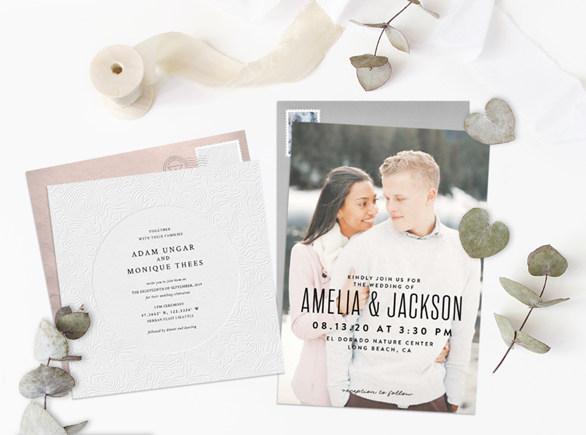 Popular Wedding Invitation Trends for 2019 - STATIONERS