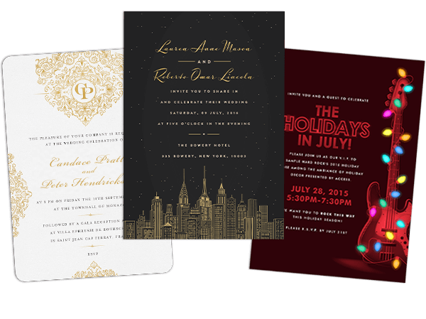 email online personal invitations that wow  greenvelope, Wedding invitation